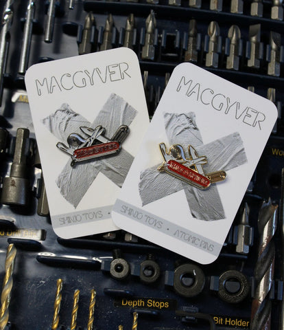Macgyver Swiss Army Knife Soft Enamel Pin