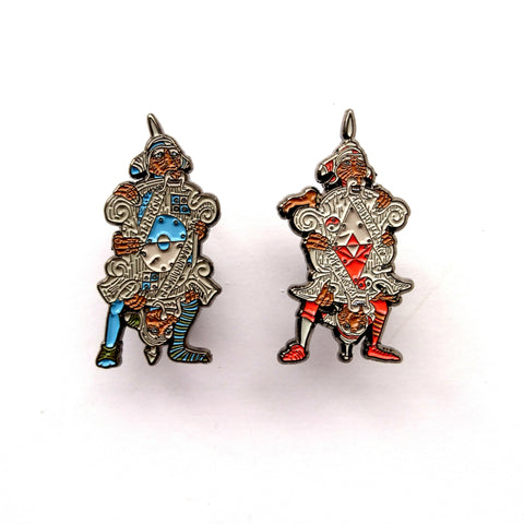 The Labyrinth Door Guards Enamel Pin Set