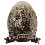 """Life Finds A Way"" Indominus Rex Egg Enamel Pin"