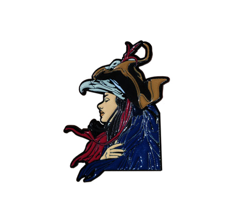 """The Trophy"" by Lily Fox Licensed Labyrinth Enamel Pin"