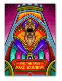 Zoltar Inspired Print By Atomic Pins