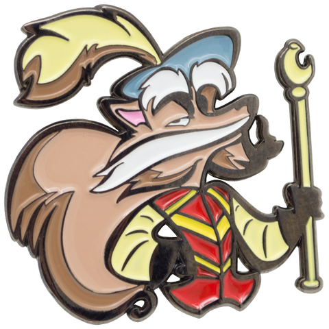 Sir Didymus Labyrinth Enamel Pin
