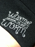 Nahhh Im Just a Worm Labyrinth Beanie Hat