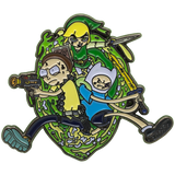 Limited Edition Set 'Link, Morty and Finn!' Enamel Pin