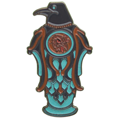 Bioshock 'Murder Of Crows' Vigor Pin Badge