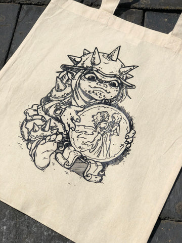 Labyrinth Goblin Tote Bag