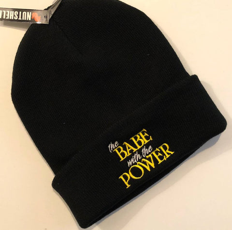 Babe with the Power - Jareth Labyrinth Beanie Hat
