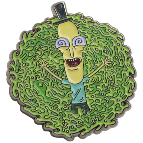 Mr Poopy Butthole ''Dazed'' Portal Enamel Pin