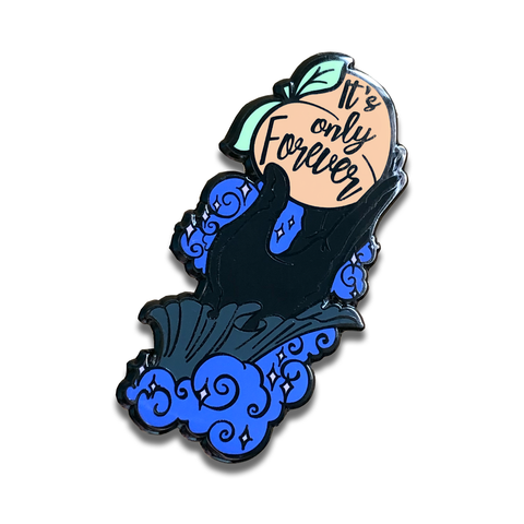 It's Only Forever - Jareths Peach Labyrinth Pin