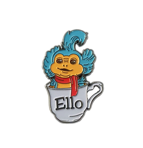 Ello Worm - Labyrinth Soft Enamel Pin Badge