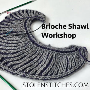 Brioche Shawl Workshop