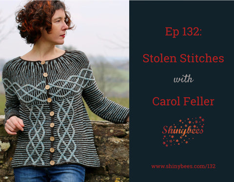 Shiny Bees podcast with carol feller