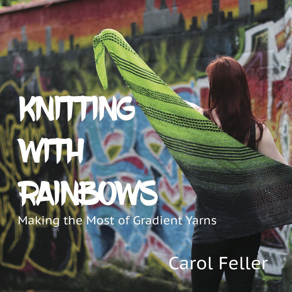 Knitting With Rainbows - Print