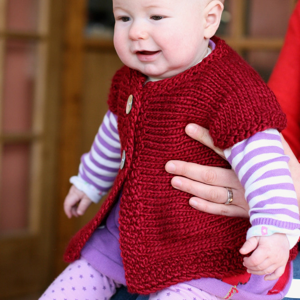 Taupini sweater by carol Feller in Fyberspates Chunky Scrumptious