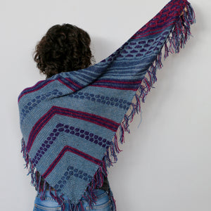 Bubble Dash Shawl