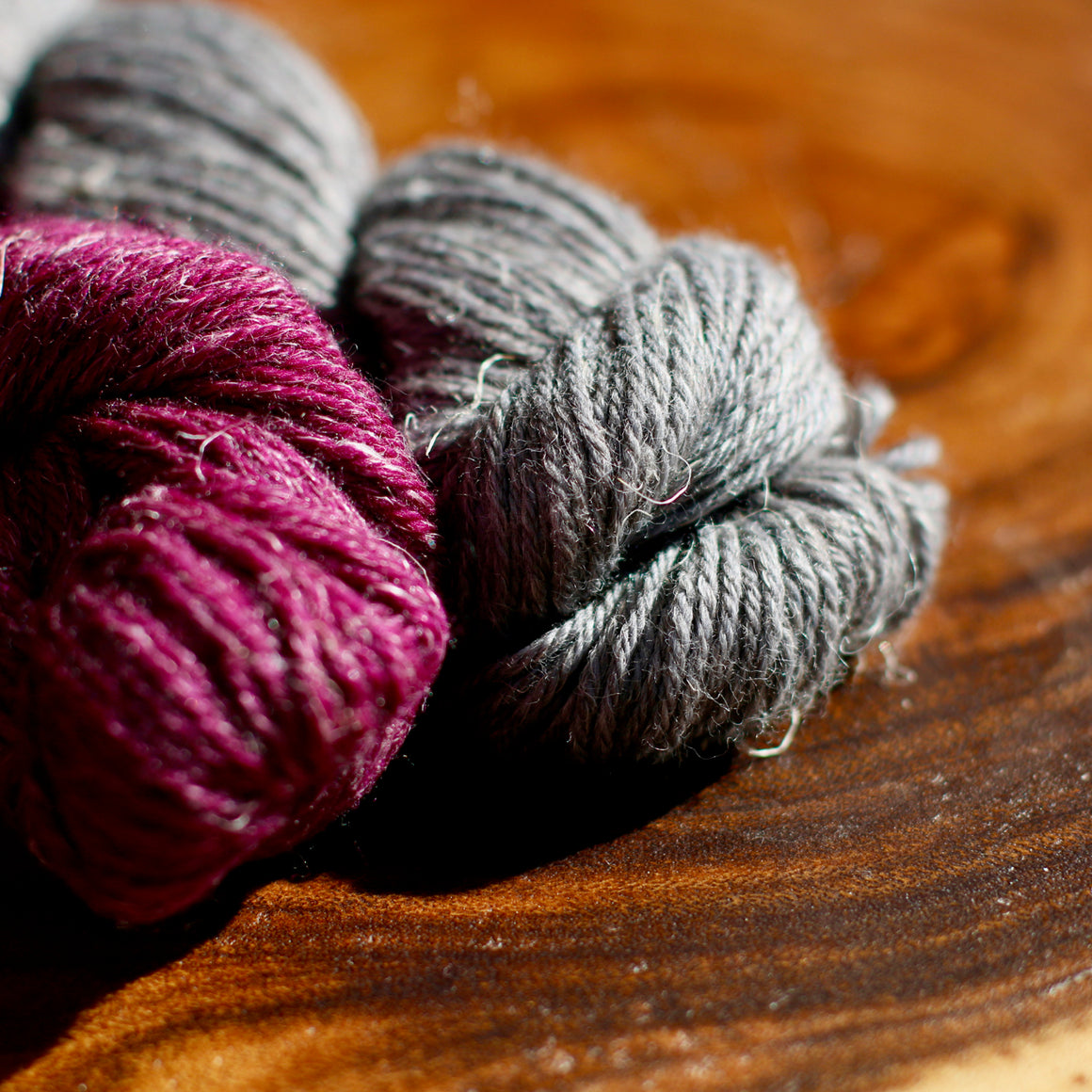 Coiled Magenta Yarn Kit