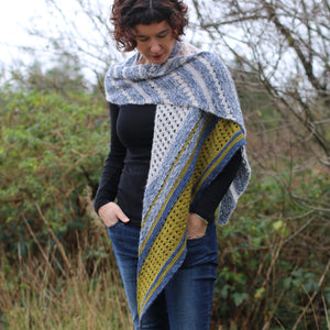 Ice Cloud Shawl