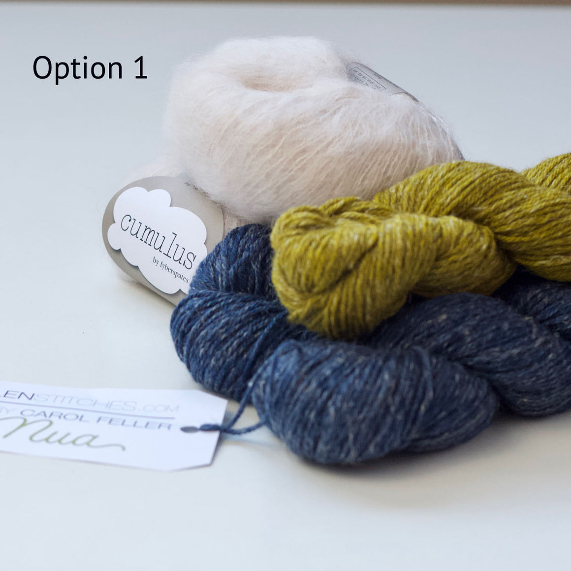 Ice Cloud KAL Yarn Kit