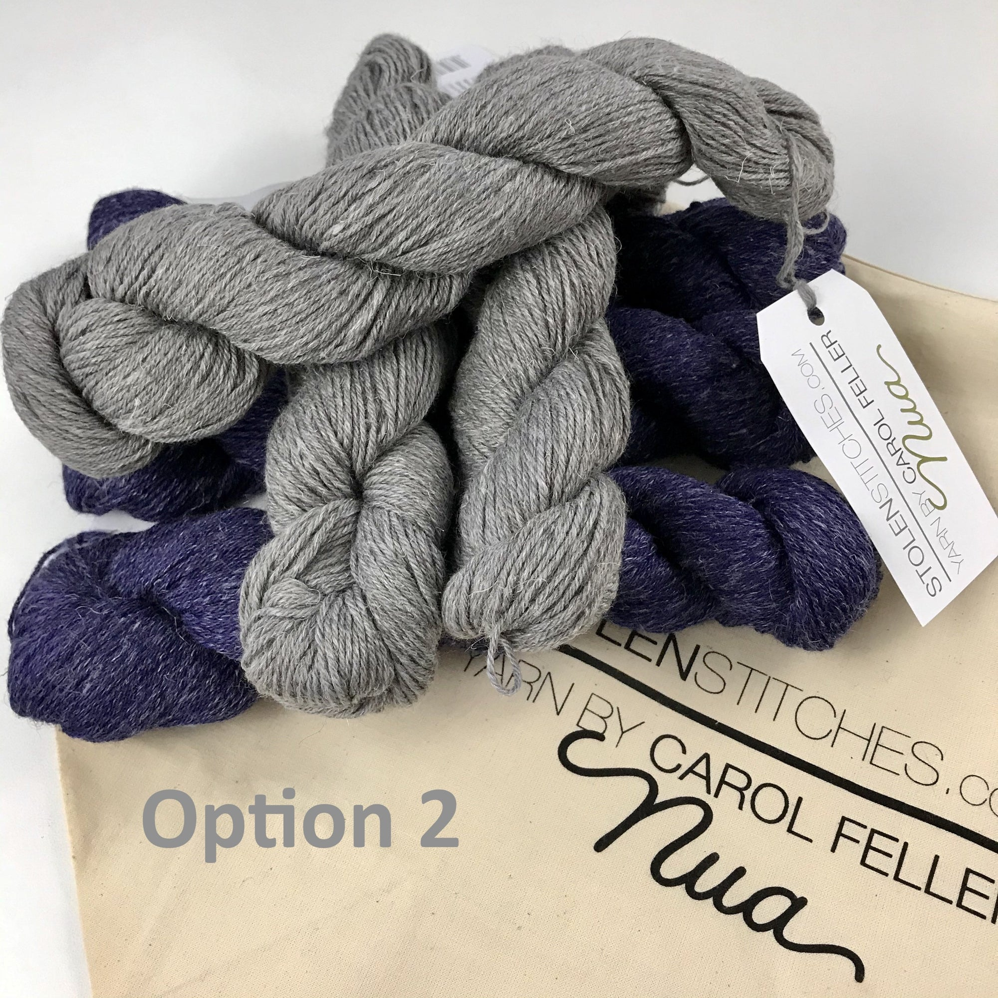 birman shawl yarn kit option 1