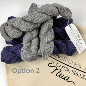 birman shawl yarn kit option 2