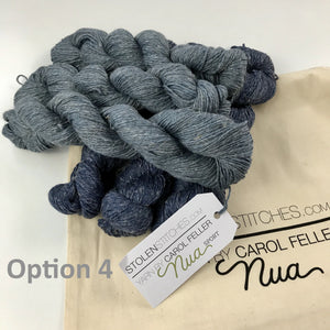 birman shawl yarn kit option 4