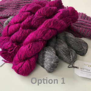 PRESALE SiOG Stripes KAL Yarn Kit