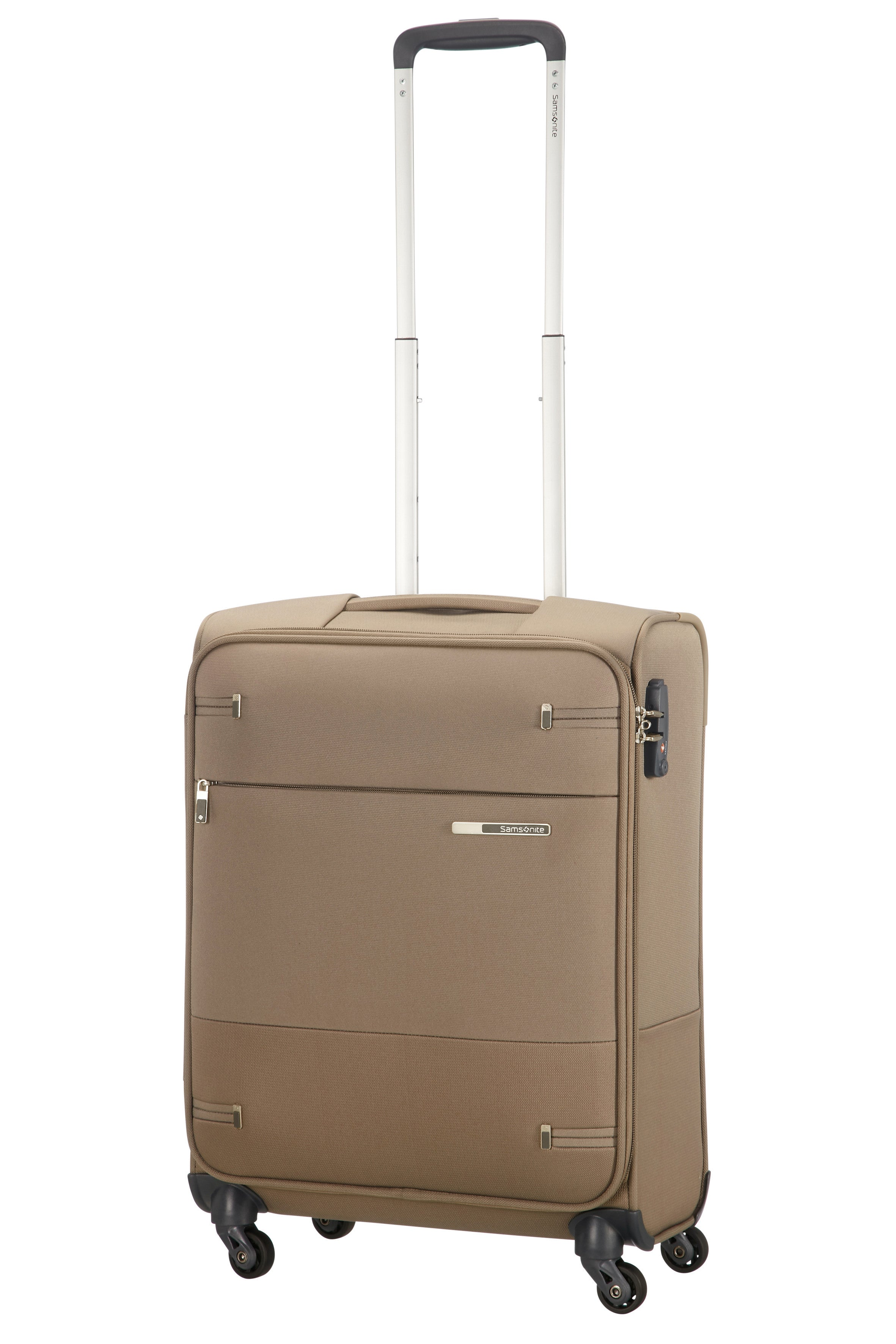 Samsonite Base Boost Spinner 55cm Lengte 40cm Walnut