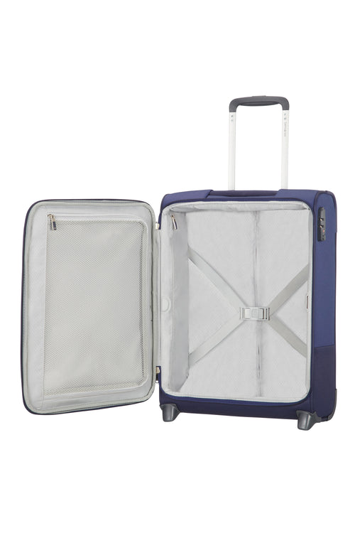 Samsonite Base Boost Upright 55cm Lengte 35cm Blue
