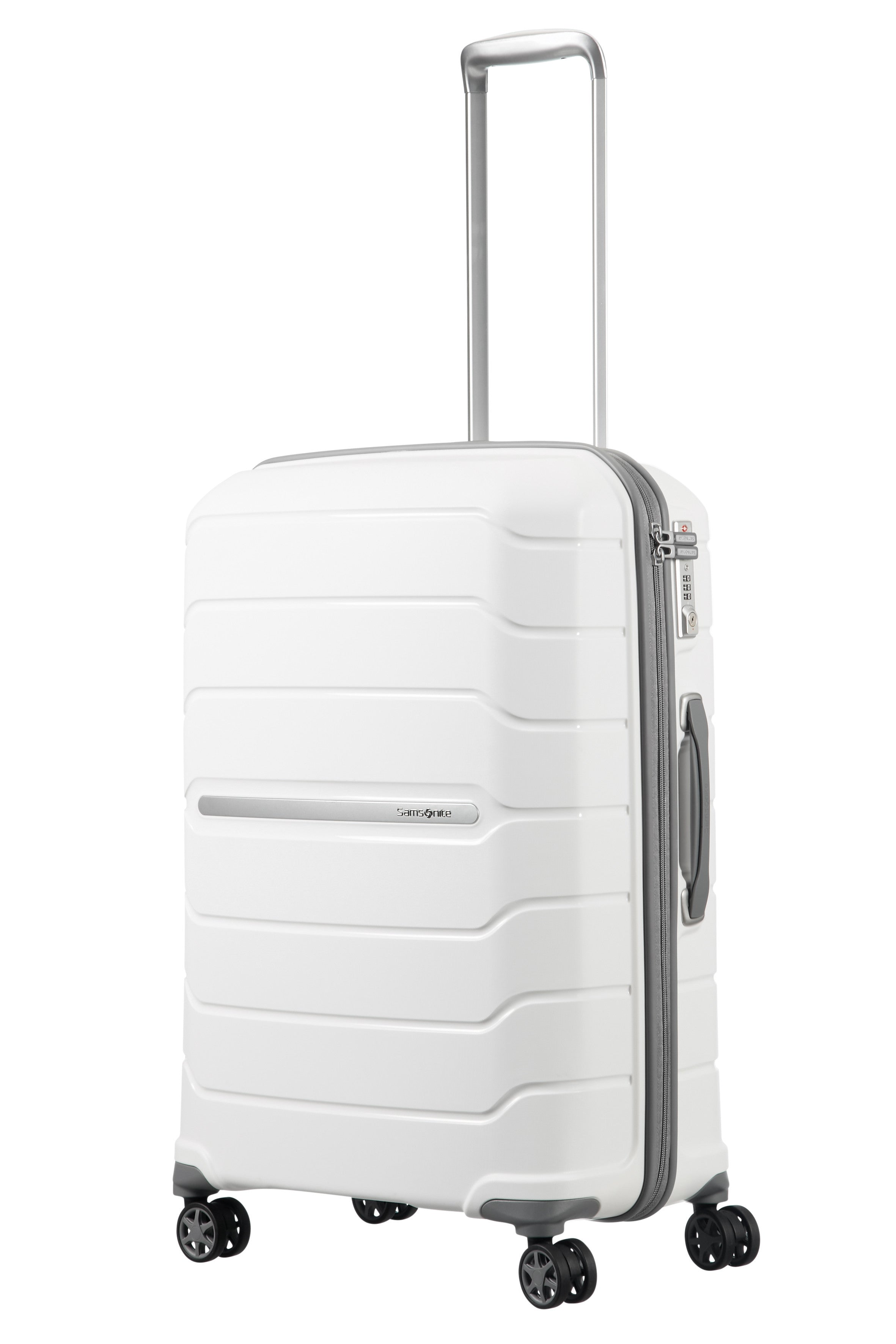 Samsonite Flux Spinner 55cm EXP White