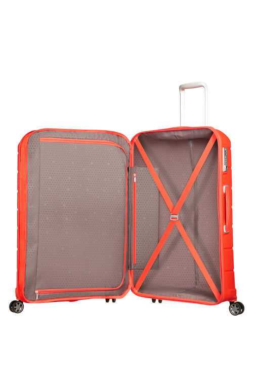 Samsonite Flux Spinner 81cm EXP Tangerine Red