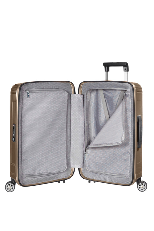 Samsonite Neopulse Spinner 55cm Metallic Zandkleurig