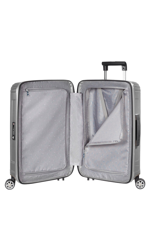 Samsonite Neopulse Spinner 55cm Metallic Zilver