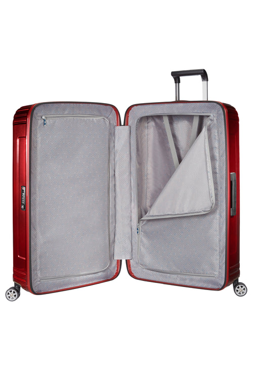 Samsonite Neopulse Spinner 69cm Metallic Rood