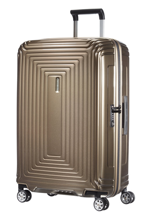 Samsonite Neopulse Spinner 69cm Metallic Zandkleurig