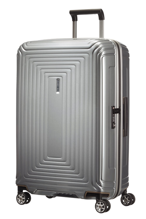 Samsonite Neopulse Spinner 69cm Metallic Zilver