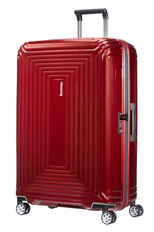 Samsonite Neopulse Spinner 75cm Metallic Rood