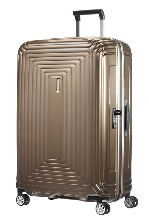 Samsonite Neopulse Spinner 75cm Metallic Zandkleurig