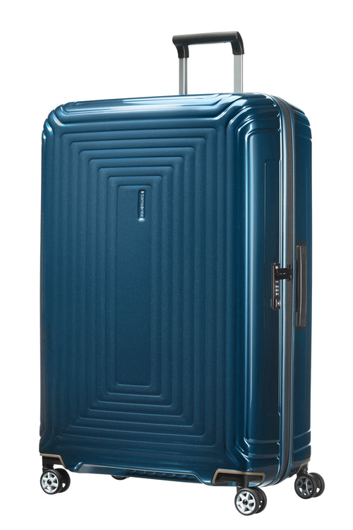 Samsonite Neopulse Spinner 81cm Metallic Blauw