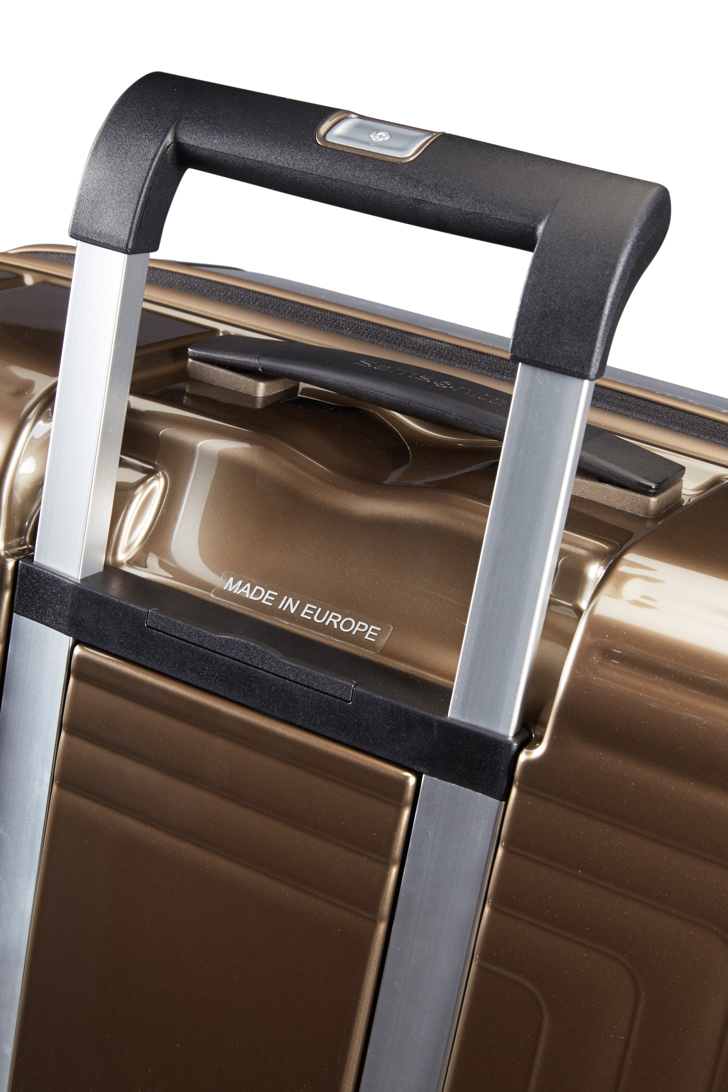 Samsonite Neopulse Spinner 81cm Metallic Zandkleurig