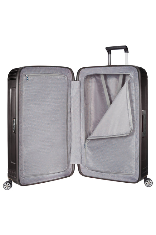 Samsonite Neopulse Spinner 81cm Metallic Zwart
