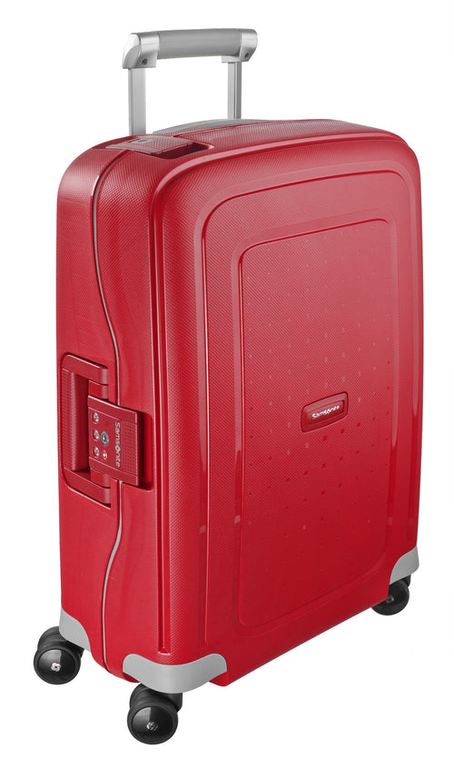 Samsonite S'Cure Spinner 55cm Crimson Red