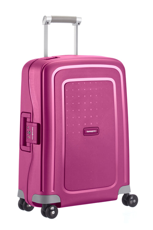 Samsonite S'Cure Spinner 55cm Fuchsia