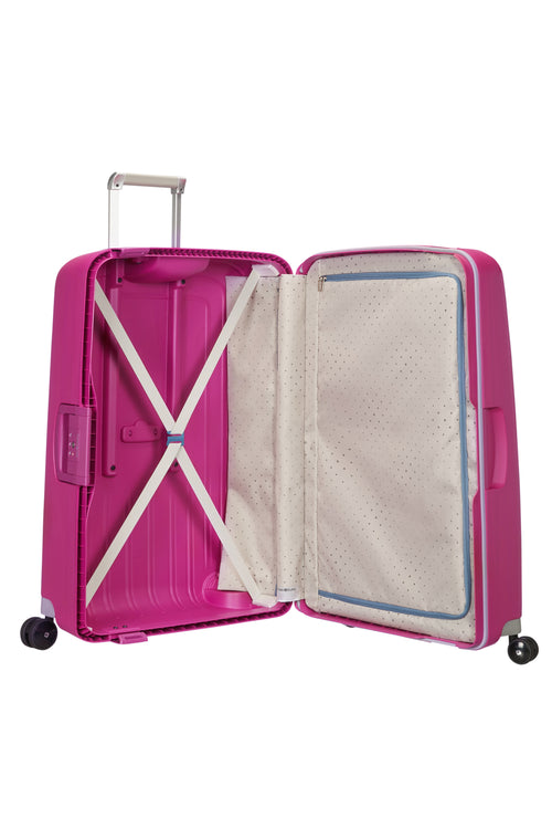 Samsonite S'Cure Spinner 69cm Fuchsia