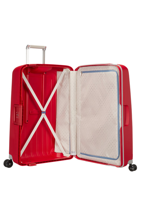 Samsonite S'Cure Spinner 75cm Crimson Red