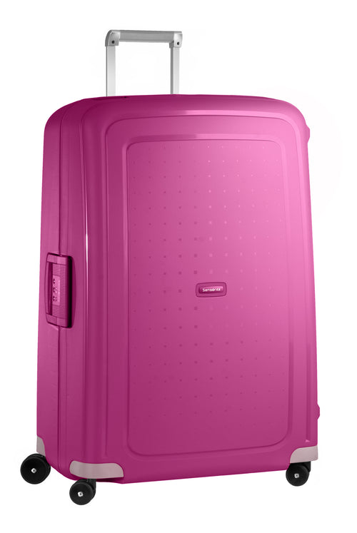 Samsonite S'Cure Spinner 81cm Fuchsia