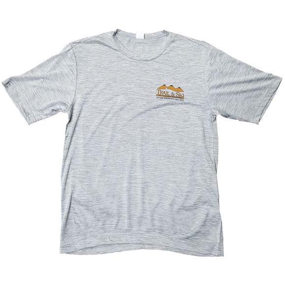 Trail & Ski logo Heathered T-Shirt