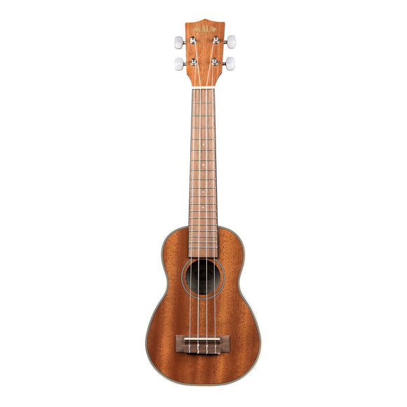 Gloss Mahogany Long Neck Soprano Ukulele
