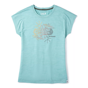 Merino Sport 150 Mountain Reflection Tee