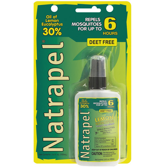 Natrapel® Lemon Eucalyptus Pump 3.4 oz Carded - NEW