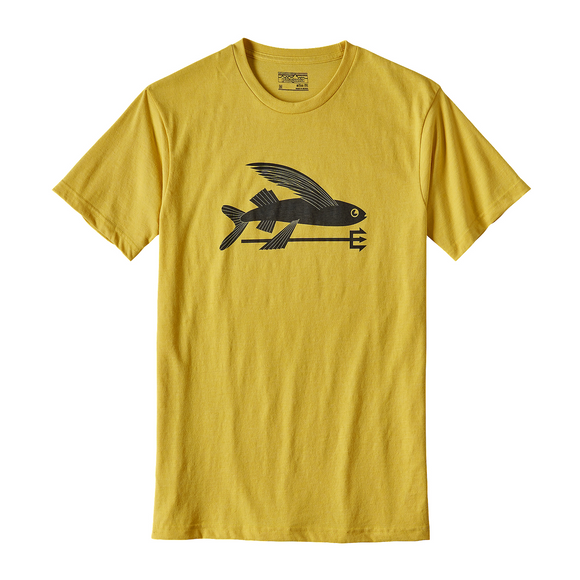 Flying Fish Cotton/Poly T-Shirt
